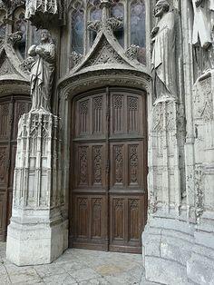 Abbaye de la Trinité à Vendôme. Loir et Cher