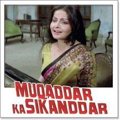 Name of Song - Dil To Hai Dil Album/Movie Name - Muqaddar Ka Sikandar Name Of Singer(s) - Lata Mangeshkar Released in Year - 1978 Music Director of Movie - Kalyanji Anandji Movie Cast - Amitabh Bachchan, Rekha, Amjad Khan