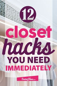 ake a look at these fantastic closet organization hacks and optimize your closet space. ake a look at these fantastic closet organization hacks and optimize your closet space. Organisation Hacks, Jean Organization, Best Closet Organization, Closet Hacks, Organizing Hacks, Clutter Organization, Organizing Your Home, Bedroom Organization, Organising