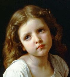 The prayer by William Adolphe Bouguereau, 1865 William Adolphe Bouguereau, Classic Paintings, Beautiful Paintings, Contemporary Paintings, Soul Art, Victorian Art, Classical Art, Renaissance Art, Ancient Art