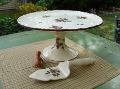 Capriware Cake/Bakery by casabellaporcelain on Etsy, $35.00