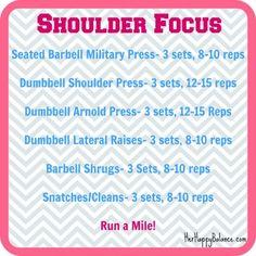 Shoulder Focus Workout - Her Happy Balance