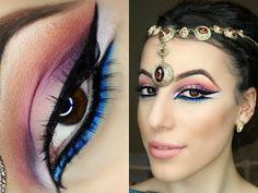 Arabic Make Up Tutorial - Exotic Eyeshadow - YouTube