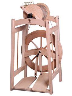 Country Spinner, le rouet à fils géants d'Ashford