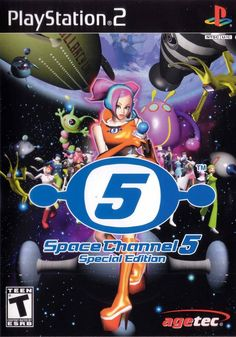 Space Channel 5 Special Edition (Sony PlayStation Complete - Games Found Here Playstation 2, Juegos Ps2, Space Channel, Cat Sweatshirt, Dance Moves, Picture Collection, Best Games, Games To Play, Over The Years