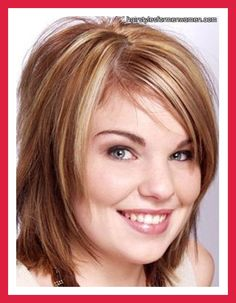 hairstyles for round faces with shoulder length hair yourself