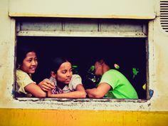 for train lovers@Yangon, Myanmar