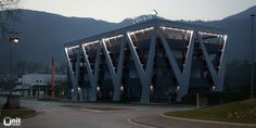 Bank in Lugano_ext01 by Unit-Studio, via Flickr