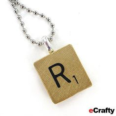 Diy scrabble tile pendants 1 minute tutorial from ecrafty diy scrabble tile pendants 1 minute tutorial from ecrafty scrabble tiles scrabble and tutorials aloadofball Image collections