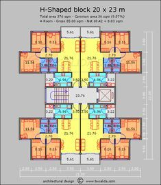 Low Cost Apartments With 3 Bedroom Hotel Floor Plan Apartment Plans Small Apartment Building