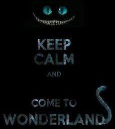 Keep calm Alice in Wonderland quote via www.Facebook.com/DisneylandForMisfits