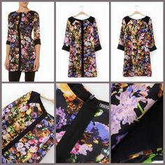 Detail:EQ 195 Black Floral Dress (size S,M,L)Excellent QualityFabric Polyester, Not ElasticSize S.M.L in cmBust (86,90,94) Shoulder (38,39,40) Waist (72,74,76) Length (81,82,83)Back Zipper sebelum membeli tanyakan ketersediaan stok terlebih dahulu infowa 081237304540 bb pin 551fd9be Happy shopping