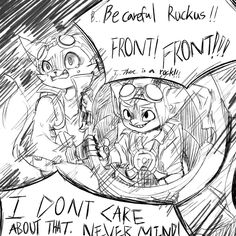 Ruckus with Pip by winterout1 on DeviantArt