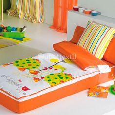 Saco nórdico REX Cañete ideal para dormitorios juveniles. Esta prenda esta preparada para los más jovenes de la casa dándole un toque divertido y juvenil al mismo tiempo que es muy práctico para que no se destapen