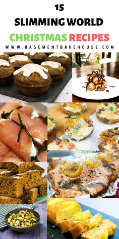 16 Slimming World Christmas Recipes – Basement Bakehouse These 15 low syn and syn free Slimming World Christmas recipes are perfect to help you stay on plan this Christmas. Slimming World Menu, Slimming World Recipes Syn Free, Slimming Eats, Healthy Holiday Recipes, Xmas Recipes, Free Recipes, Holiday Meals, Mini Christmas Cakes, Christmas Items