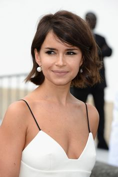 Miroslava Duma attends the Christian Dior show as part of Paris Fashion Week Haute-Couture Fall/Winter 2013-2014 at Hotel Des Invalides on July 1, 2013 in Paris, France.
