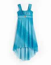 beautiful blue dress haley wanted for Homecoming this year!