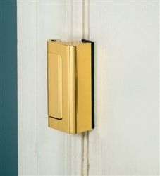 Confounding door lock for seniors-Good idea we used the old type. locks that u can open with your nail or a knife.