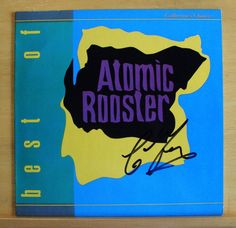 ATOMIC ROOSTER - Best of - Vinyl LP SIGNED Devil´s Answer Tomorrow Night Top RAR