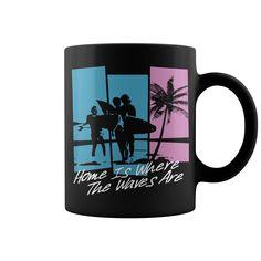 Home Is Where HOT MUG  coffee mug, papa mug, cool mugs, funny coffee mugs, coffee mug funny, mug gift, #mugs #ideas #gift #mugcoffee #coolmug