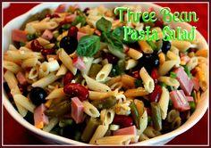 Sweet Tea and Cornbread: Three Bean Pasta Salad!