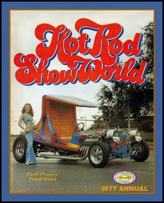 Hot Rod Show World Program, 1977 by Cosmo Lutz, via Flickr