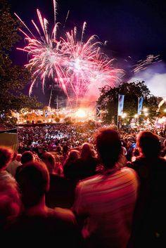 Secret Garden Party Fireworks. The festival season #7wonders