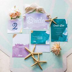 Little Mermaid wedding