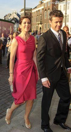 La princesse Mary et le prince Frederik