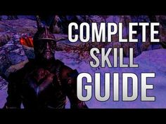 COMPLETE SKYRIM SKILLS GUIDE TO 100! HITTING THE MAX LEVEL FAST