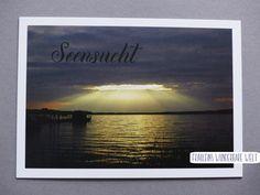 Postkarte - Seensucht