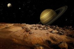 """NASA's Cassini spacecraft has discovered a """"mysterious feature"""" on Saturn's moon Titan. Scientists are working to determine, what, exactly, this feature might be."""