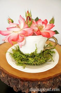 Easy Upcycled Thrift Store Tea Cups