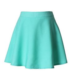 BBW PLUS or TALL Mini Cotton Circle Skirt with by PrincessAndQueen, $40.00…