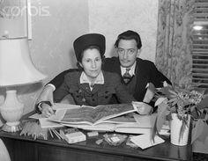 Gala and Salvador Dali, 1941