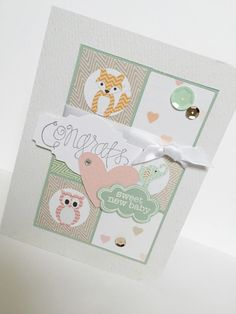 Items similar to Sweet Baby Handmade Card on Etsy Handmade Baby, Handmade Gifts, New Baby Products, Unique Jewelry, Sweet, Cards, Etsy, Vintage, Kid Craft Gifts