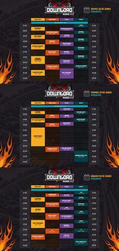 Ya están los horarios del Download Festival Madrid