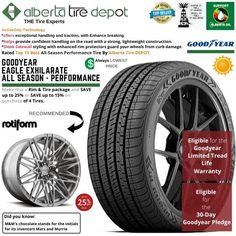 Goodyear EAGLE EXHILARATE All Season Performance Tire 255/40ZR18 XL 99Y Rotiform Wheels Goodyear Eagle, Service Map, Performance Tyres, Wheels, Seasons, Seasons Of The Year
