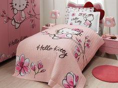 hello kitty bed set!