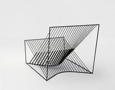 5MM lounge chair thing: by Finnish designer Michael Mantila