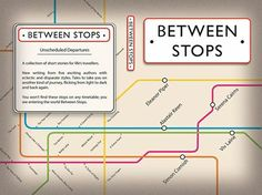 Between Stops   A collection of short stories for life's travellers. Why not join us on your journey and enter the world Between Stops? Available on Amazon.co.uk and on Amazon.com