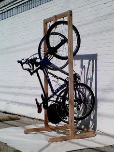 Bicycle Rack by TomsTableShop on Etsy, $240.00