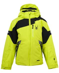Special Offers Available Click Image Above: Spyder Boys' Leader Jacket Kids Ski Wear, Nike Jacket, Rain Jacket, Kids Winter Jackets, Kids Outfits, Casual Outfits, Kids Skis, Snowboarding Outfit, Dog Raincoat