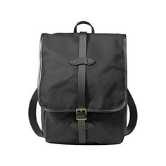 Filson Tin Cloth Backpack Black One Size ** Find out more about the great product at the image link.