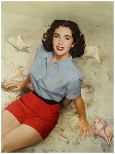 Elizabeth Taylor, probably 1948. Photograph by Nickolas Muray.
