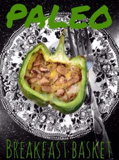 Bell Pepper Baskets! Paleo, Primal, Gluten Free, Real food meals and snacks on a budget! Re*pin and save for later!