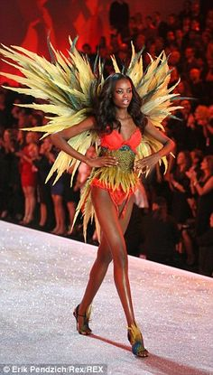 Introducing the Victoria Secret's stars set to light up the catwalk #dailymail