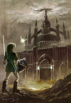 Ocarina of Time via pixiv