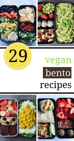 lunch recipes These healthy vegan bento box ideas and recipes for lunch will make sure that you or your kiddos never go hungry or have to buy junk food! A ton of delicious and plant-based ideas you can make for work, school or road trips. Lunch Meal Prep, Healthy Meal Prep, Healthy Snacks, Healthy Lunchbox Ideas, Healthy Nutrition, Vegan Lunch Box, Vegan Lunches, Vegetarian Lunch Ideas For Work, Vegan Lunch For School