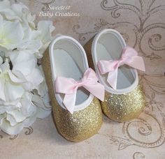 Pink and Gold First Birthday Outfit Pink by SweetestBabyCreation